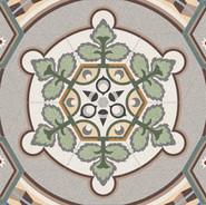 Hexagon Medallion Tiles