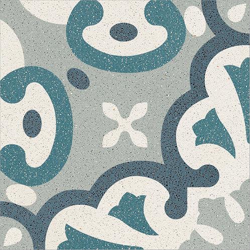 Cement Tile Complex Design Ocean-01