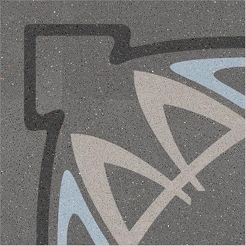 Cement Tile Art-Nouveau Design 09