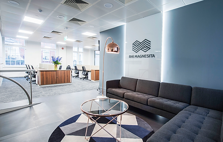 RHI Magnesita London office architectre refurbishment