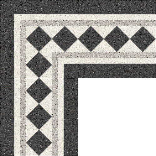 Cement Border Tile 20x20-40