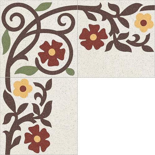 Cement Border Tile 20x20-08