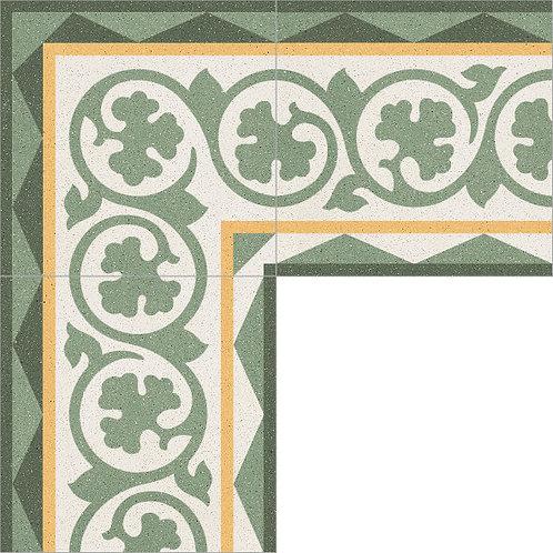 Cement Border Tile 20x20-07
