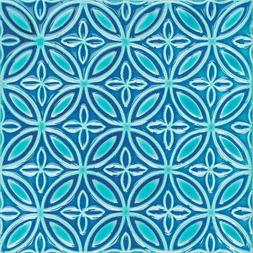 Art Nouveau Bathroom Ceramic Tile