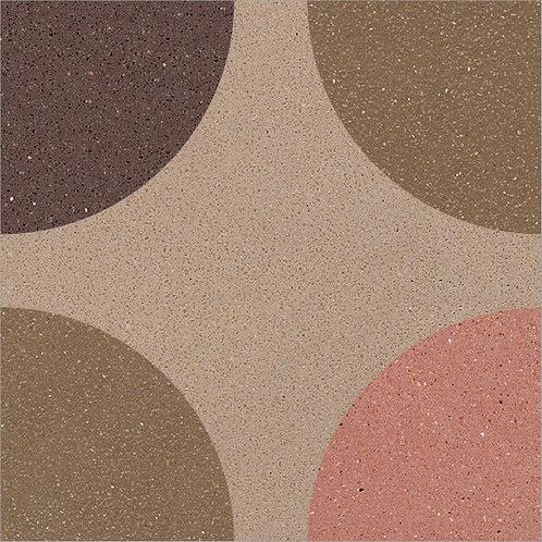 Cement Tile Polka-Dot Design 02