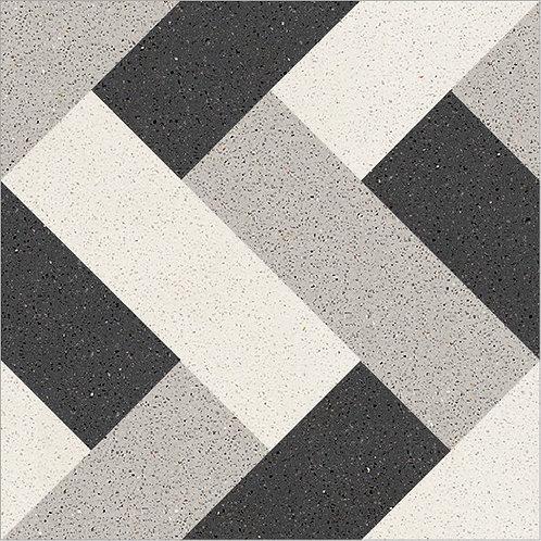 Cement Tile Geometric Design 01