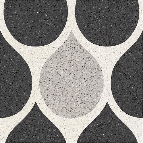 Cement Tile Polka-Dot Design 06