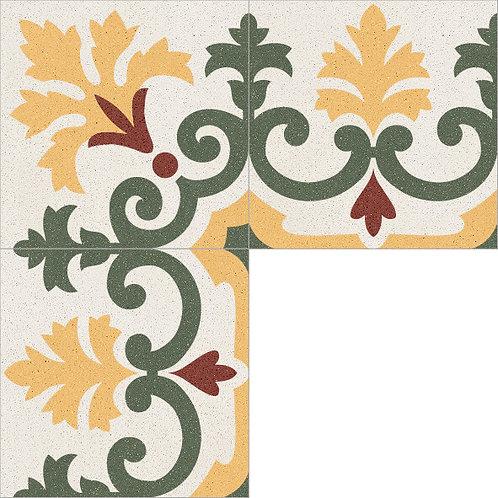 Cement Border Tile 20x20-12