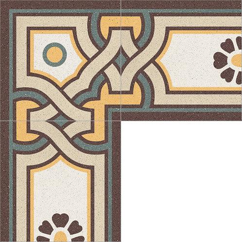 Cement Border Tile 20x20-13