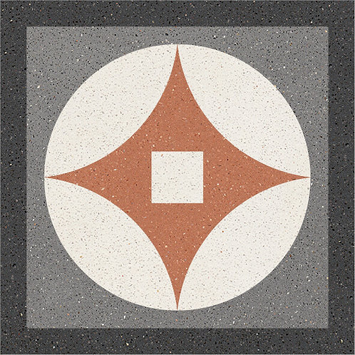 Cement Tile Retro Design 07