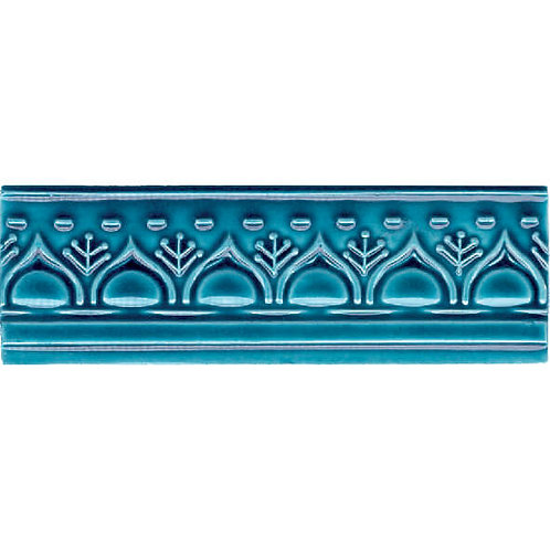 Patterned Relief Ceramic Plinth