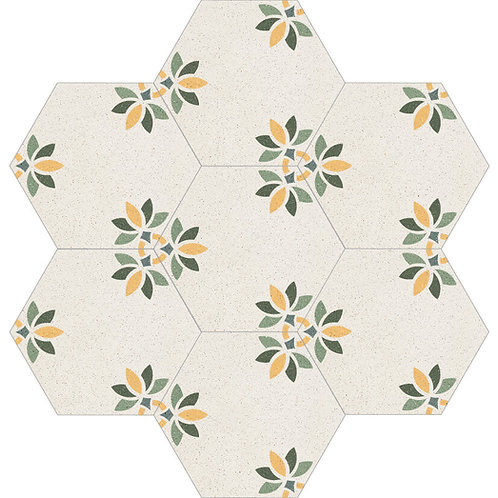 Hexagon Cement Tile 30x35-03