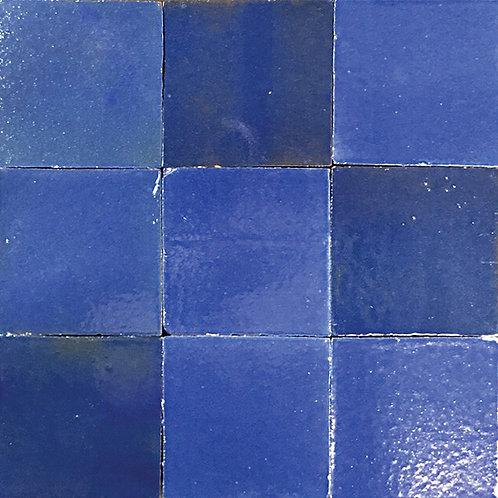 Hermes Blue Zellige Tile