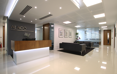 Alaco London office refurbishment
