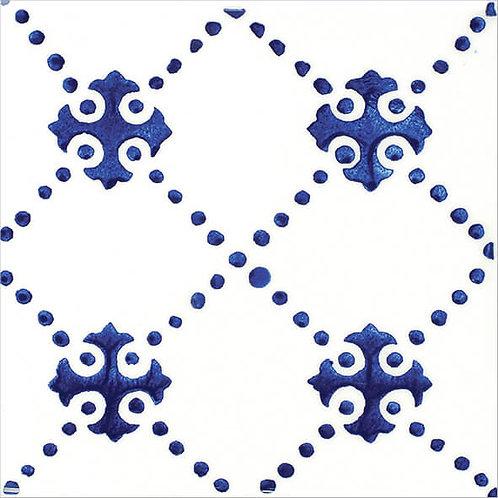 Dotted Artisanal Ceramic Tile