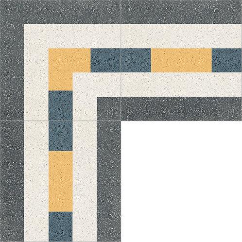 Cement Border Tile 20x20-25