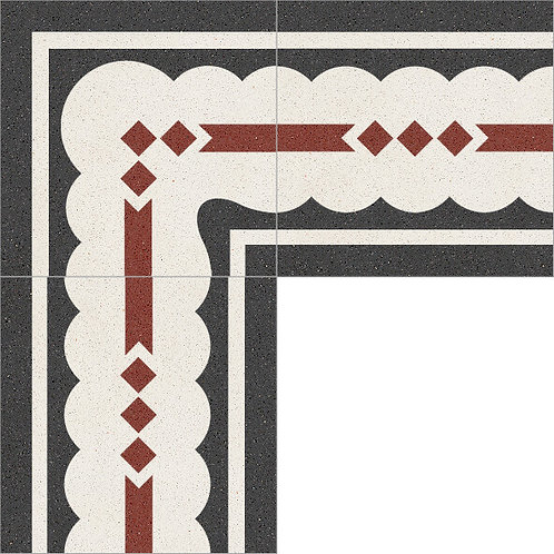 Cement Border Tile 20x20-26