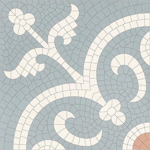 Cement Tile Bisantic Relief-01
