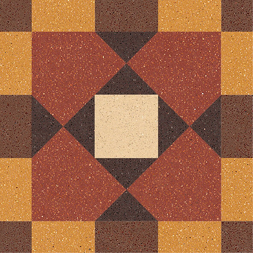 Cement Tile Complex Design Retro-24