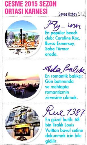 FLY INN BEACH - BEJ ÇEŞME - HÜRRİYET CUMARTESİ - 11.07.2015 1.jpg