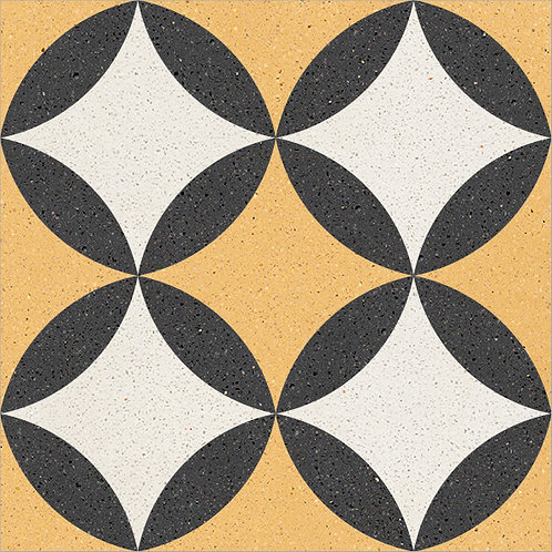 Cement Tile Retro Design 09