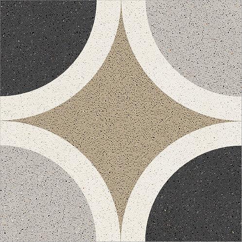 Cement Tile Ocean Polka-Dot 01