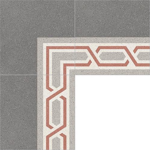 Cement Border Tile 20x20-15