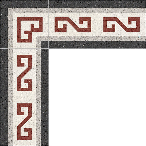 Cement Border Tile 10x20-07