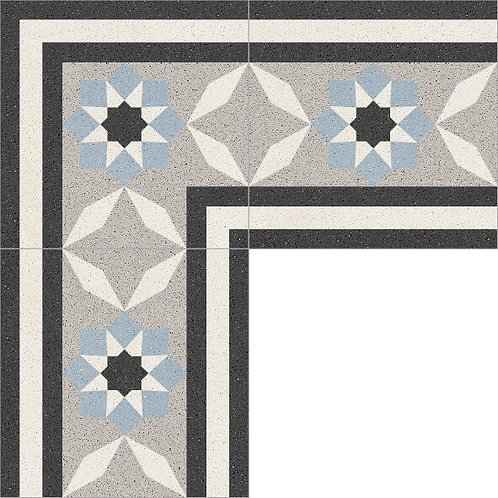 Cement Border Tile 20x20-28