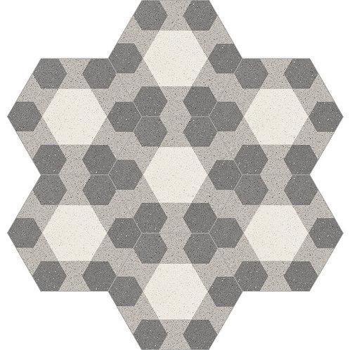 Hexagon Cement Tile 20x23-34