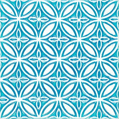 Art Nouveau Wall Ceramic Tile