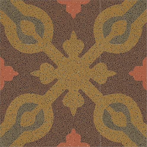 Cement Tile Ocean Design 04