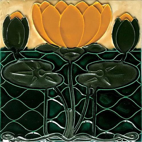Art Nouveau Bedroom Ceramic Tile