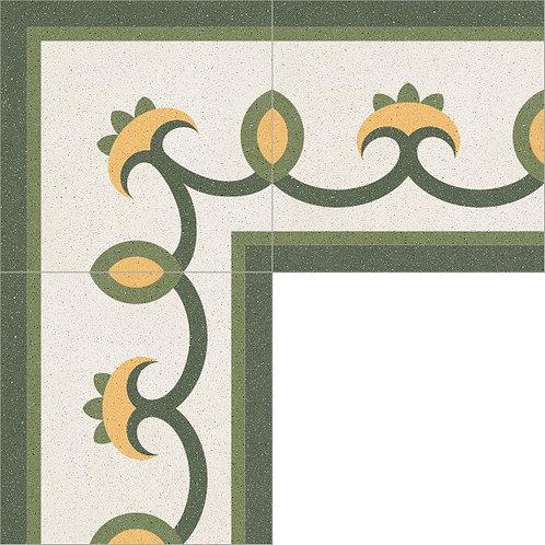 Cement Border Tile 20x20-18
