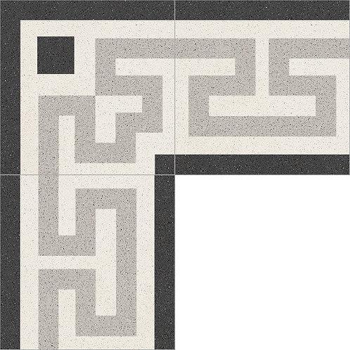 Cement Border Tile 20x20-22