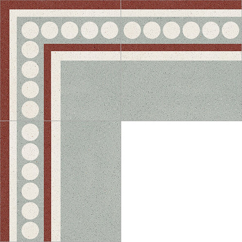 Cement Border Tile 20x20-31