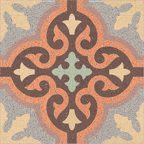 Cement Tile Complex Design Moroccan-09