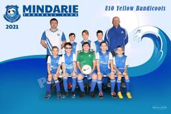 Mindarie FC U10 Yellow Bandicoots