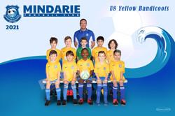 Mindarie FC U8 Yellow Bandicoots