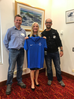 Mayor Tracey receives new 2019 club polo