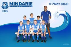 Mindarie FC U8 Purple Bilbies