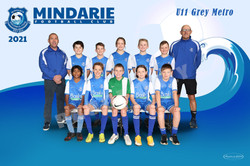 Mindarie FC U11 Grey Metro