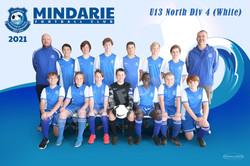 Mindarie FC U13 North Div 4 (White)