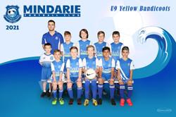 Mindarie FC U9 Yellow Bandicoots