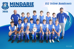 Mindarie FC U12 Yellow Bandicoots