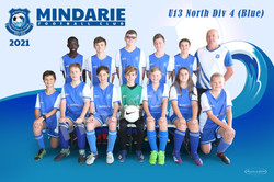 Mindarie FC U13 North Div 4 (Blue)