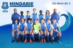 Mindarie FC U14 Metro Div 2