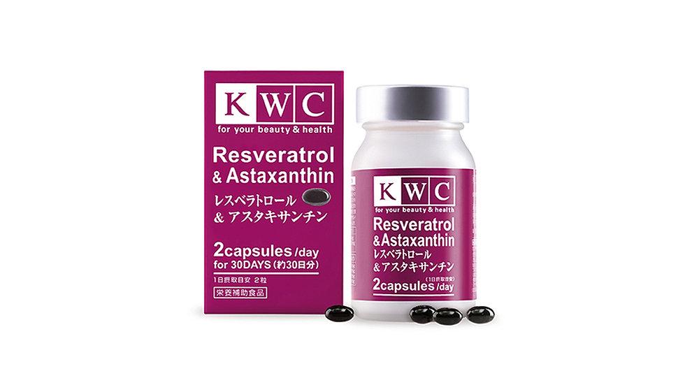 Resveratrol and Astaxanthin