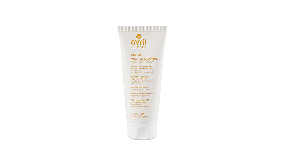 Organic Baby Cream (Face & Body)