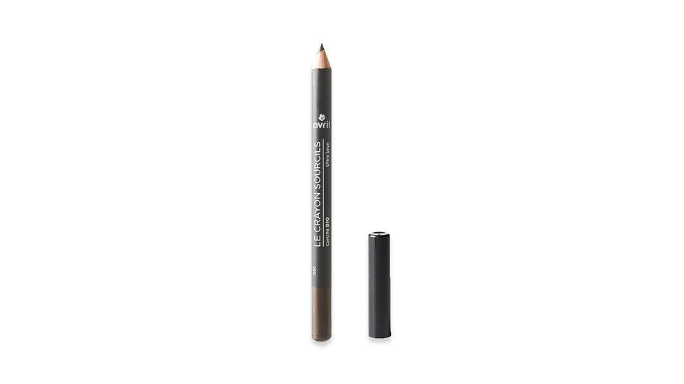 Eyebrow Pencil in Ultra Brun